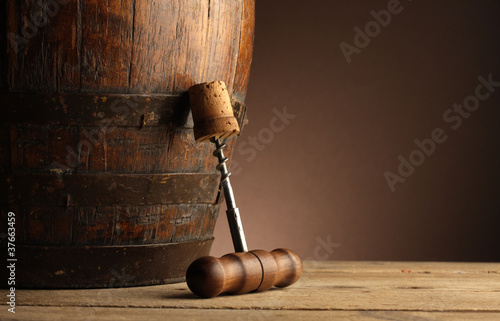 Fotomural corkscrew
