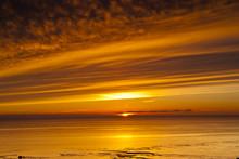 Sunset, Solway Firth, Dumfries...