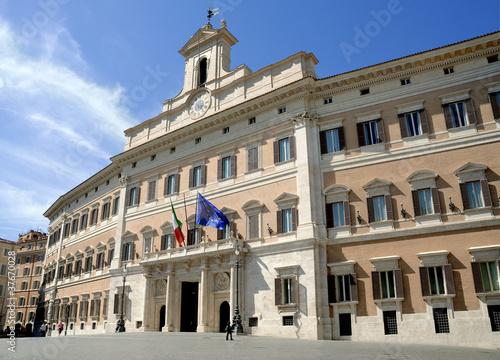 Fotografía  Montecitorio, Camera dei Deputati, Roma