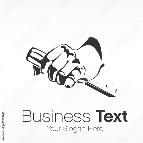 logo business Wallpaper Mural