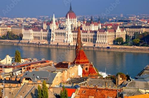 Foto op Canvas Boedapest parliament building, budapest, hungary