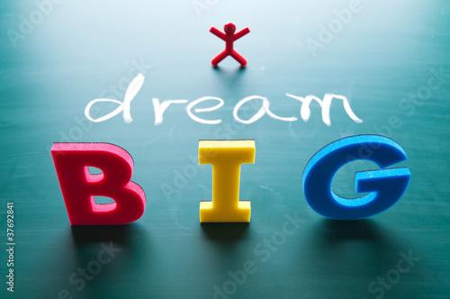 Fotografia  I dream big concept