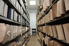 Old Vintage File Documents In ...
