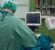 Cardiogram monitor surgery