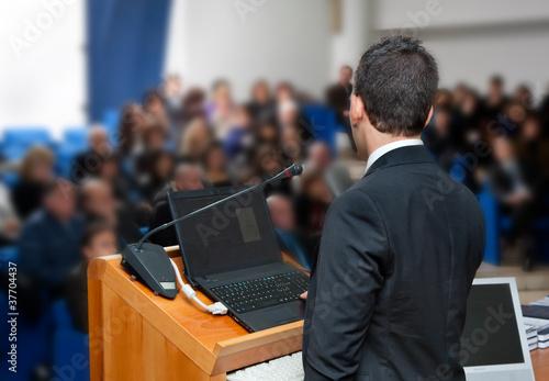 Fotografía  Conferenza