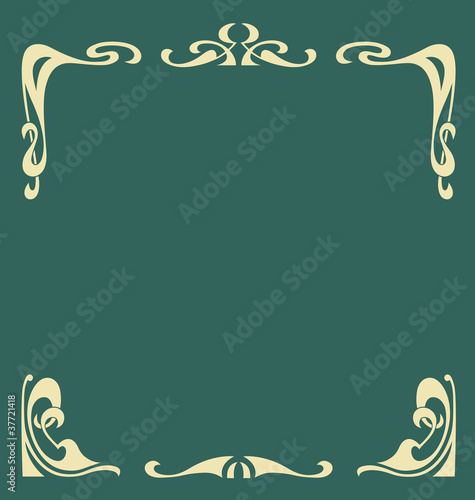 Secession frame Poster