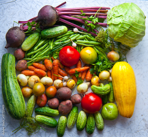 Group of different vegetables. © alehdats