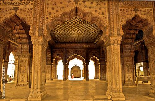 Stickers pour porte Delhi Forte Rosso, New Delhi