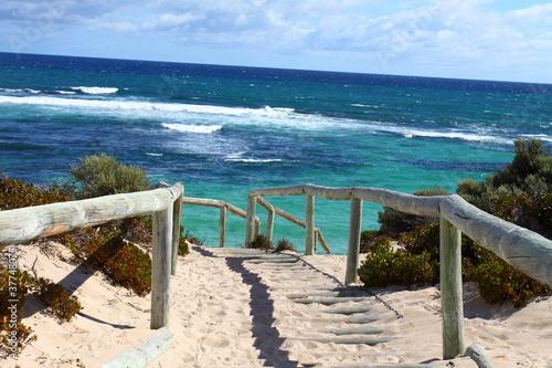Printed kitchen splashbacks Australia Rottnest island in Australia
