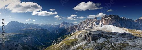 Fotografie, Obraz  Dolomity-panorama