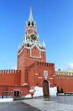 Tower In Moscow Kremlin