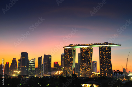Photo  Marina Bay Sands - Singapore