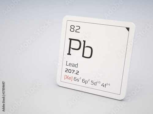 Lead element of the periodic table buy this stock illustration lead element of the periodic table urtaz Choice Image