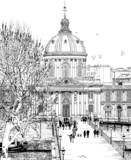 Pont des arts w Paryżu - 37815280