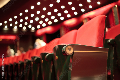 Photo sur Aluminium Opera, Theatre theater seats