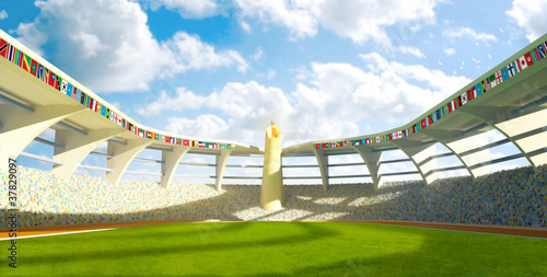 Fotografía  Olympic Stadium