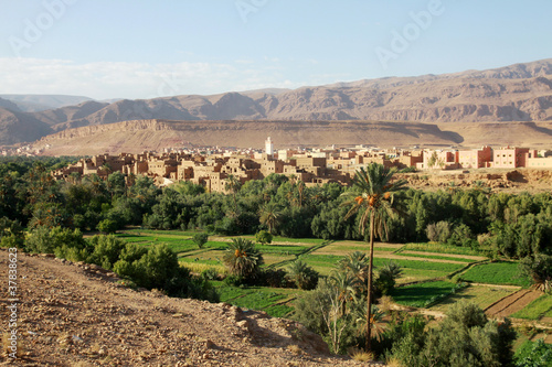 Foto op Plexiglas Marokko Todra Valley - Marocco