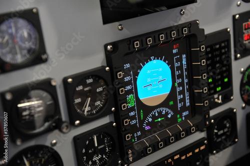 cockpit control Canvas Print