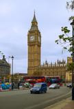 Fototapeta Londyn - Big Ben – wieża zegarowa w Londynie