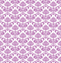 Seamless Pink Floral Wallpaper...