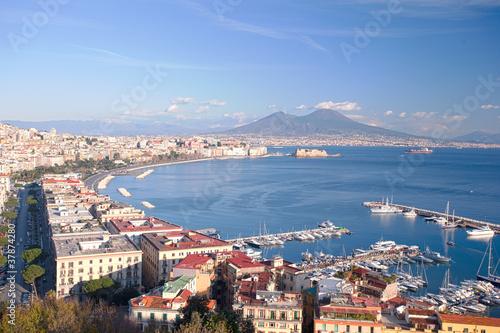 Foto auf AluDibond Neapel Gul of Naples