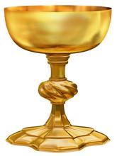 Ornate Golden Chalice