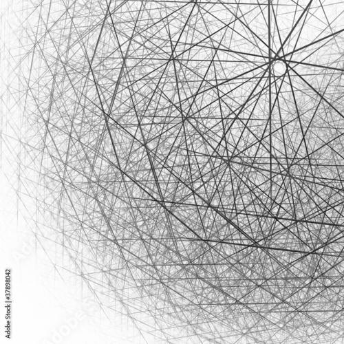 3d-sferyczna-struktura-czarny-i-bialy