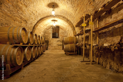 Wine cellar 2 Wallpaper Mural