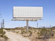Blank Mojave Billboard