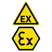 Warnschilder Ex Zeichen Vektor