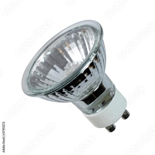 Obraz Halogen spot light bulb - fototapety do salonu