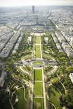 Fototapeta Fototapety Paryż - Paryż - panorama - Pola Marsowe