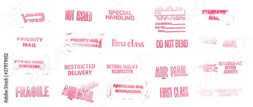 Fotografía  Postage Stamps and Marks XXXL
