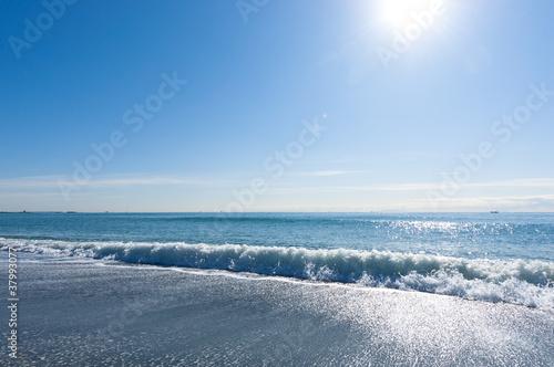 爽やかな海岸 Canvas Print