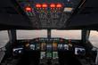 canvas print picture - Cockpit