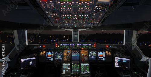 Stampa su Tela Cockpit