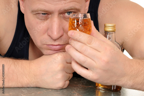Plakaty dydaktyczne pijany-facet