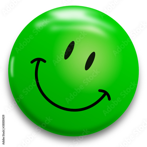 Grüner Lachender Smiley Buy This Stock Vector And Explore Similar