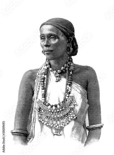 Trad. Indigenous Woman Canvas