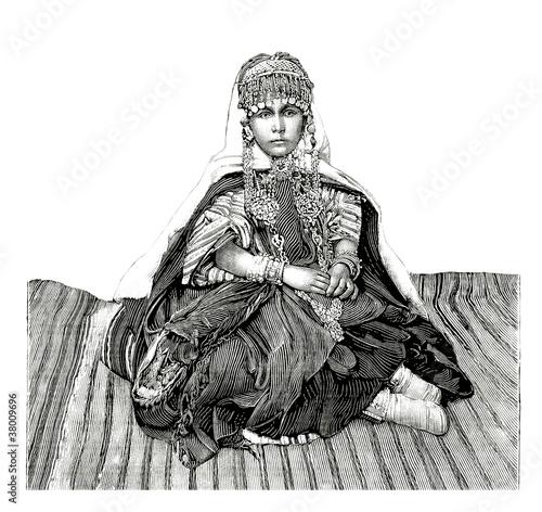 Foto  Trad. Arabian Woman/Girl
