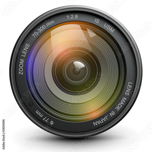 Fotografie, Obraz  Photo lens