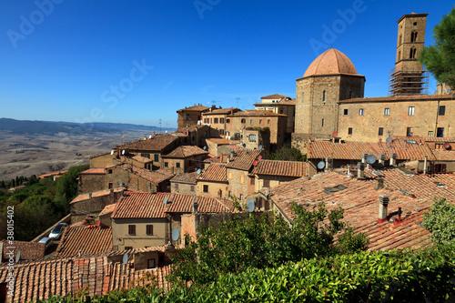 Foto-Fahne - Volterra (von Andreas Edelmann)