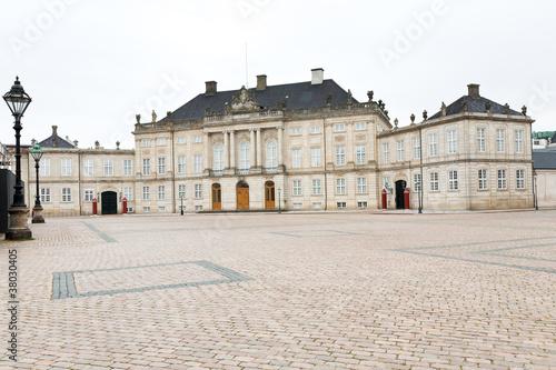Moltke's Palace in Copenhagen Wallpaper Mural