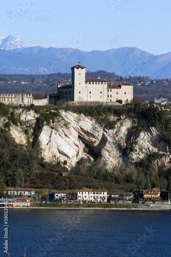 Rocca di Angera Canvas Print