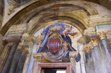 The Sedile Dominova In Sorrento Italy