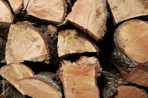 Fotografie, Obraz  wood logs