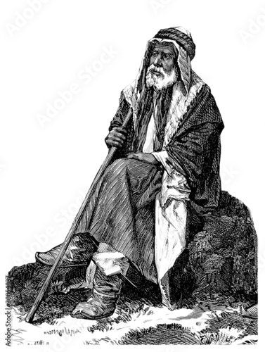 Old Semitic Man Poster