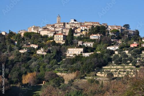 Fotografía  Côte d'azur vieux village de Mougins où résida Picasso