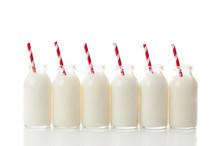 Milk Bottle Row