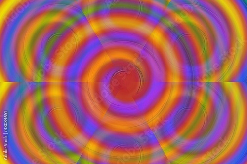 Poster Psychedelique Psychedelic Flower